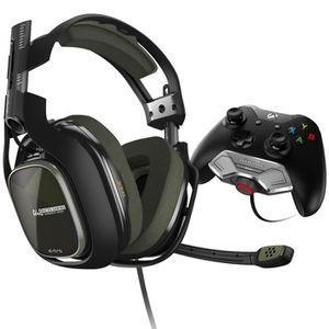 CASQUE AVEC MICROPHONE Astro Gaming Casque A40TR + Mixamp M80 Vert pour X