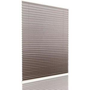 STORE DE FENÊTRE Store Vénitien polyester store plissé 70x130cm Gri