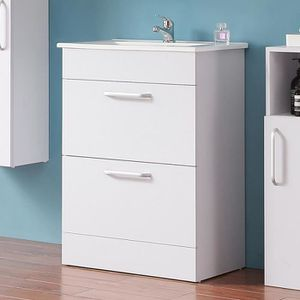 SALLE DE BAIN COMPLETE Meuble de salle de bain 60 cm, meuble sous lavabo