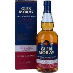 WHISKY BOURBON SCOTCH Spiritueux - Glen Moray Sherry Cask Finish Scotch