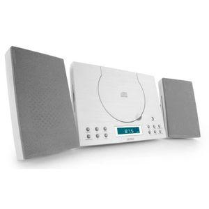 CHAINE HI-FI Chaîne hi-fi radio réveil lecteur laser CD AUX hor