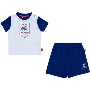 fecffd312e568 MAILLOT DE FOOTBALL Ensemble t-shirt + short bébé garçon FFF - Collect ...