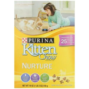 CROQUETTES Purina Chaton Chewy Croquettes pour chat, 18 Oz PW