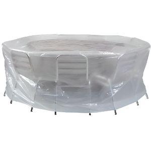 HOUSSE MEUBLE JARDIN  Housse de protection pour table + chaises ronde