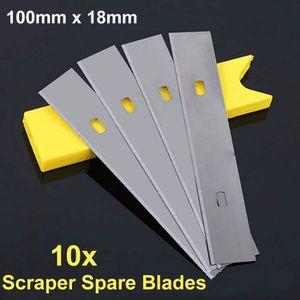 Grattoir /à papier peint de haute qualit/é avec 5 lames de rechange 100 mm