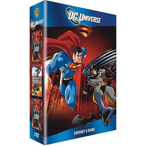 DVD DC Universe - Coffret 3 films