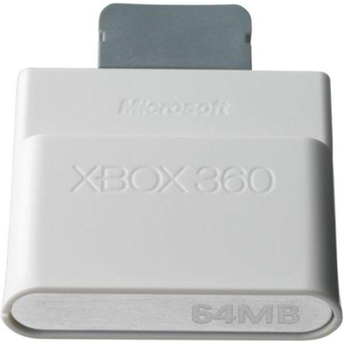 carte memoire xbox 360 XBOX 360   Achat / Vente carte mémoire CARTE MEMOIRE XBOX 360 64