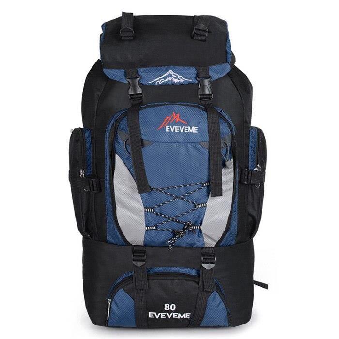 Sac à dos étanche 80l pour homme, accessoire de Sport, escalade, randonnée, alpinisme, Camping, plein air, tendance [1691A68]