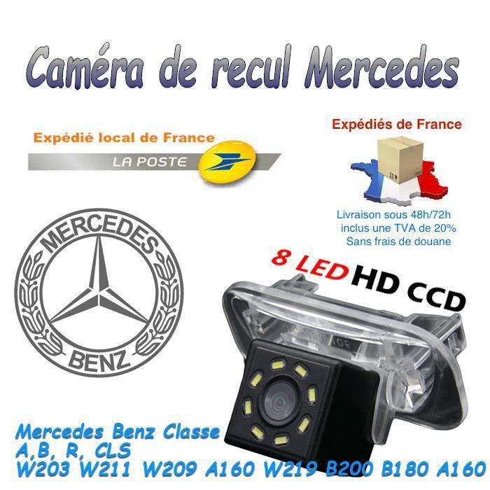Voiture Cam/éra de recul pour Mercedes Benz C E S Class CL Class W204/W212/W216/W221