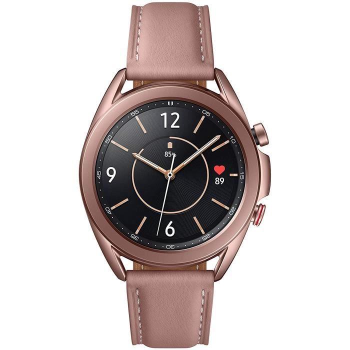 MONTRE SPORT Samsung - Montre Galaxy Watch 3 R855 - 41 mm Version 4G - Mystic Bronze [+ Bon d'achat ]452