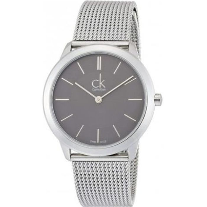 Calvin Klein Montre Homme K3M 211 00 Acier inoxydable bracelet argenté