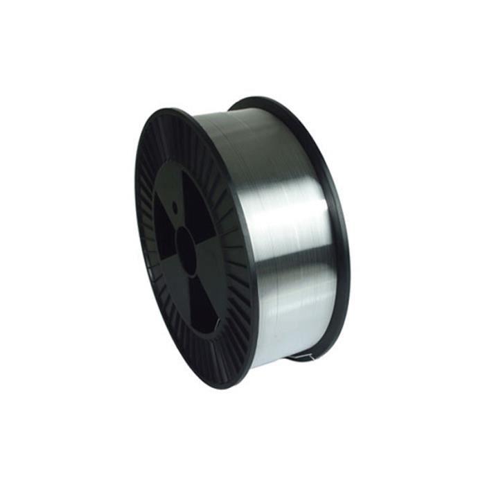 Fil plein alu GYS AlMg5 Ø 0,8 mm - Bobine plastique S100 0,5 kg 086548