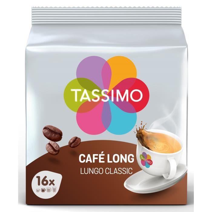 Tassimo Café Long x16 - 107g