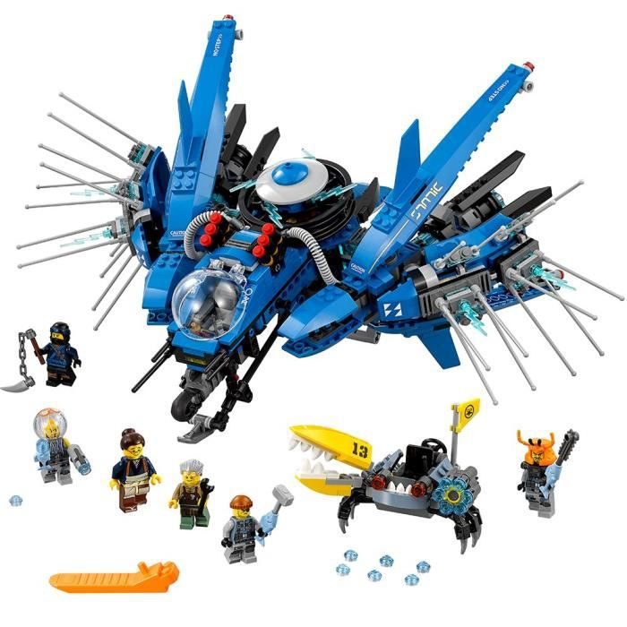 Lego Ninjago Film Foudre Jet 70614 Kit de construction (876 Piece) WMZKJ