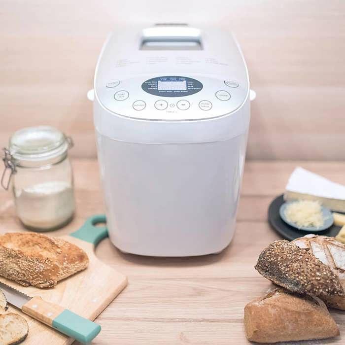 LIVOO DOP205W Machine à Pain - Ecran Digital 15 Programmes - Blanc