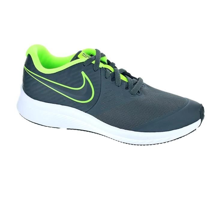 NIKE Baskets Star Runner 2 Vert Mixte