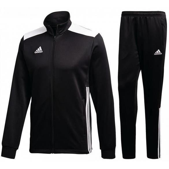 Jogging Adidas Noir et Blanc Climalite Homme
