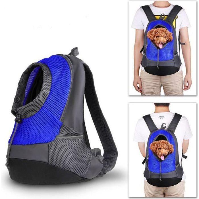 Pet porte-sac à dos Chien Sac de transport de Voyage Sac à dos de Ventral Poitrine Transporteur Sacs pour Petit Animaux