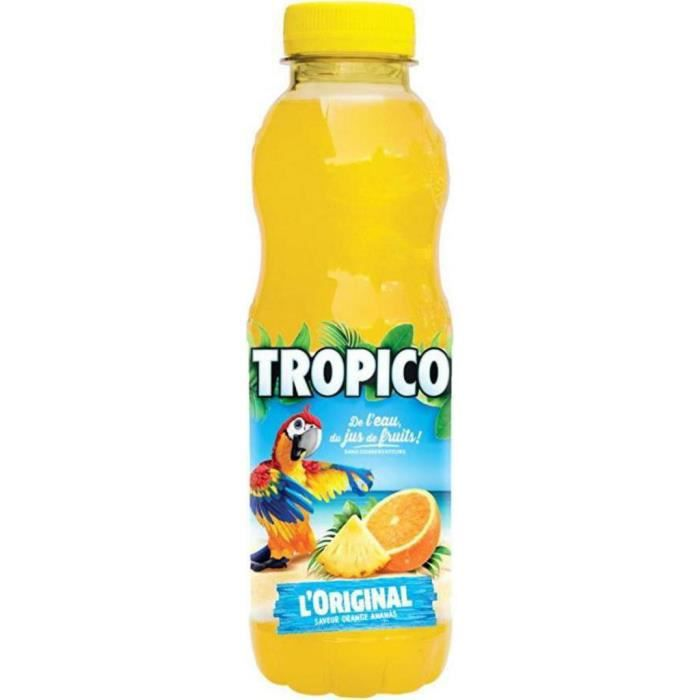Tropico Boisson à l'orange l'original 50 cl