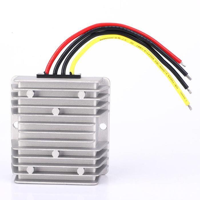 Protection IP67 (36V 48V à 5V) (25A) Régulateur convertisseur élévateur CC /