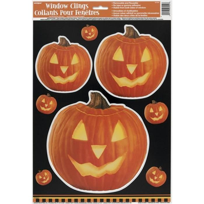 Deco citrouille for Decoration murale halloween