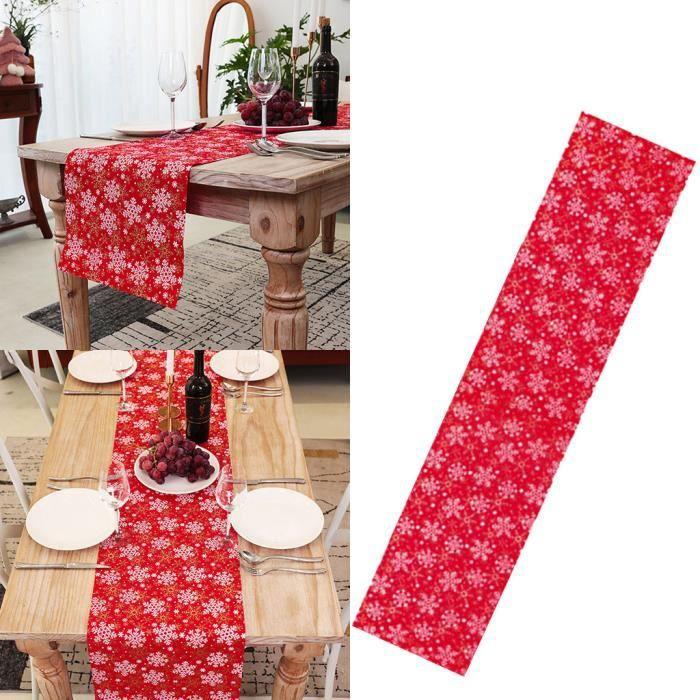 petites Holly motif rouge//vert et or 4 pièces de Noël Tissu