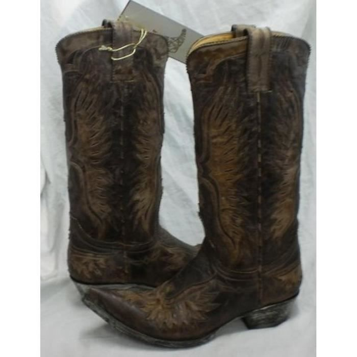 Bottes hommes Bottes Mexicana hommes Shedron or5957