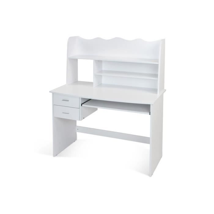 bureau enfant blanc achat vente bureau bureau enfant blanc cdiscount. Black Bedroom Furniture Sets. Home Design Ideas