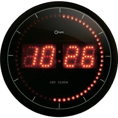 horloge murale digitale led horloge murale numrique. Black Bedroom Furniture Sets. Home Design Ideas