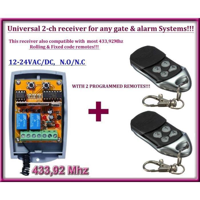 SEIP RC-AM Compatible 433 MHz Porte De Garage Télécommande