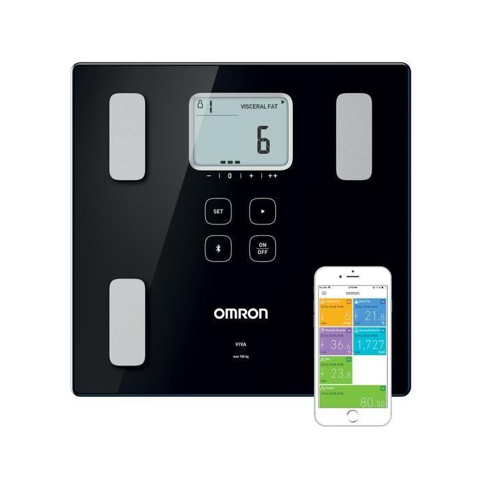 PÈSE-PERSONNE OMRON Balance Connectée Bluetooth - Impédancemètre