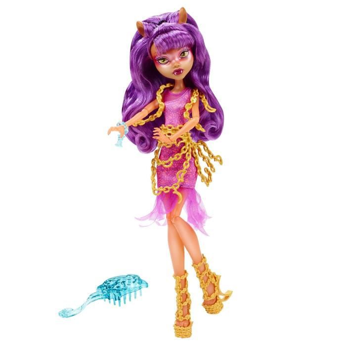 poup e monster high hant clawdeen wolf achat vente poup e cdiscount. Black Bedroom Furniture Sets. Home Design Ideas