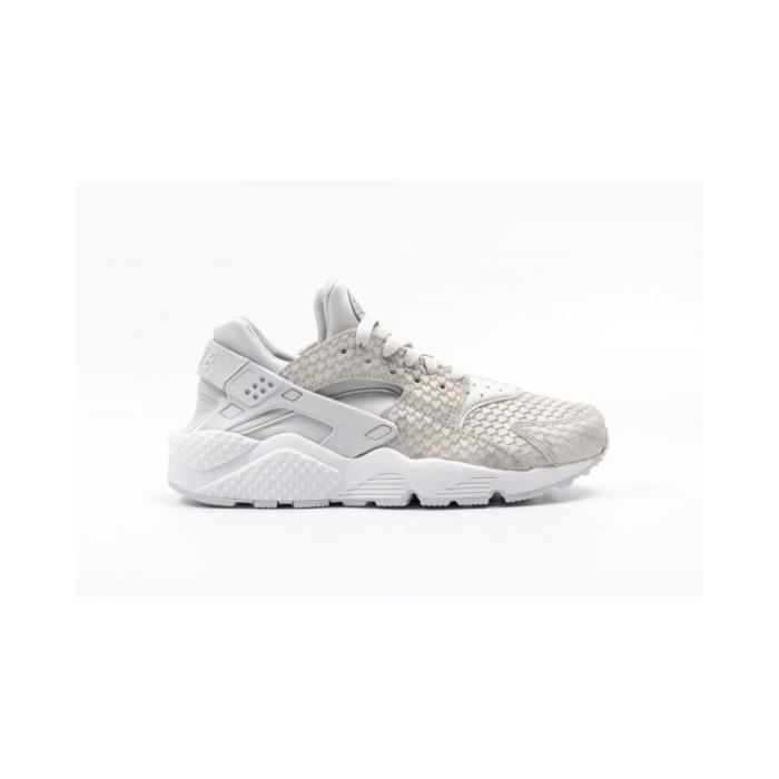 Basket NIKE AIR HUARACHE RUN PRM Age ADULTE, Couleur BEIGE, Genre FEMME, Taille 41