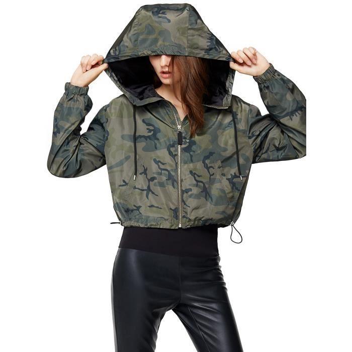 Manteau Outdoor Veste Légère Vent 36 Imperméable Pour Femmes À Coupe Capuche Dry V9irr Quick Taille 80nwmN