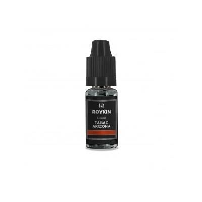 LIQUIDE E-liquide arôme tabac arizona Roykin 11 mg / 10ml
