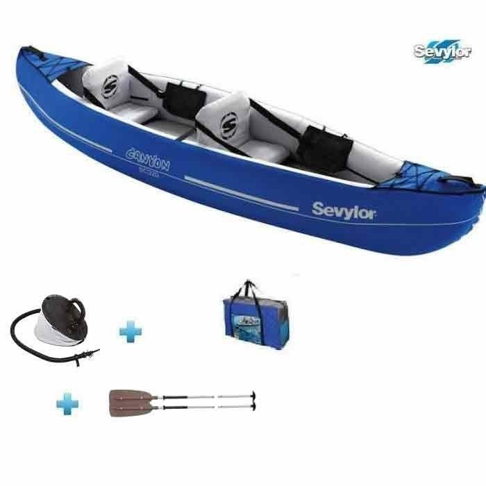 Pack kayak gonflable 2 places sevylor canyon sc320 prix pas cher cdiscount - Kayak gonflable 2 places ...