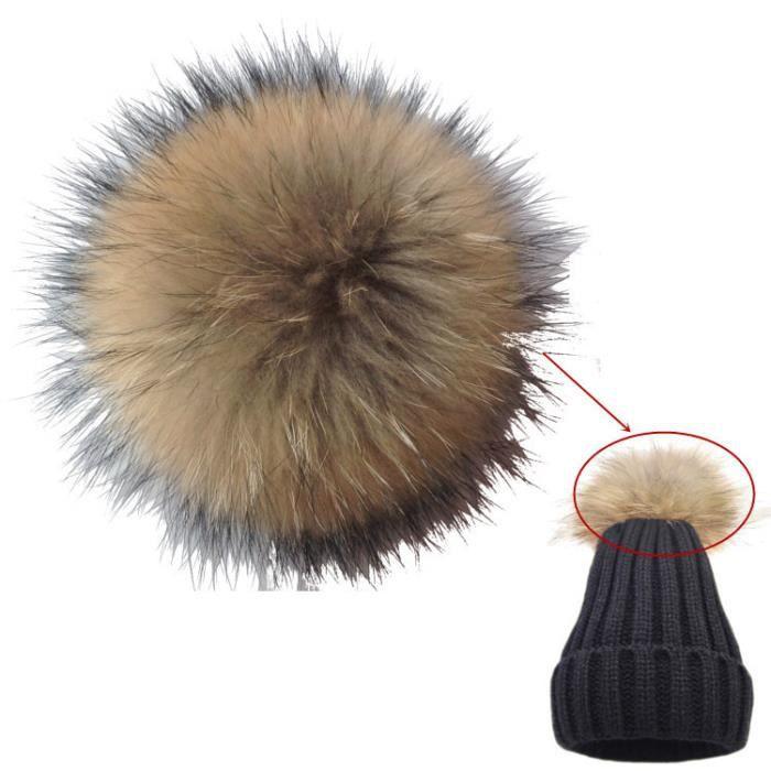 Décoration Fait Main Fourrure De Lapin Pompon Cadeau Loisirs Créatifs Diy