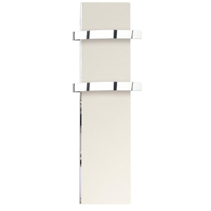 SÈCHE-SERVIETTE ÉLECT Sèche-serviette rayonnant SLIM blanc cachemire 500
