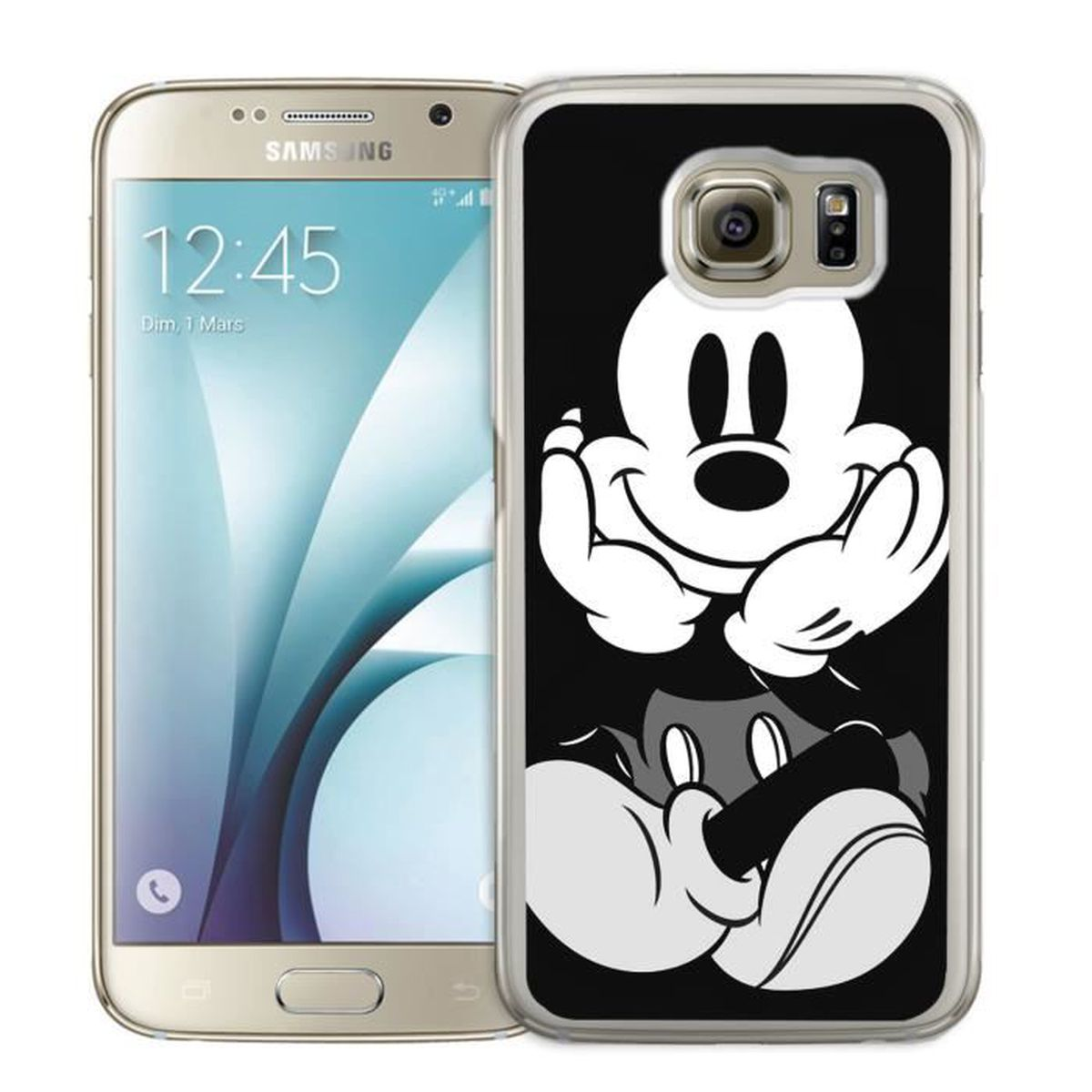 coque samsung galaxy s6 edge blanc