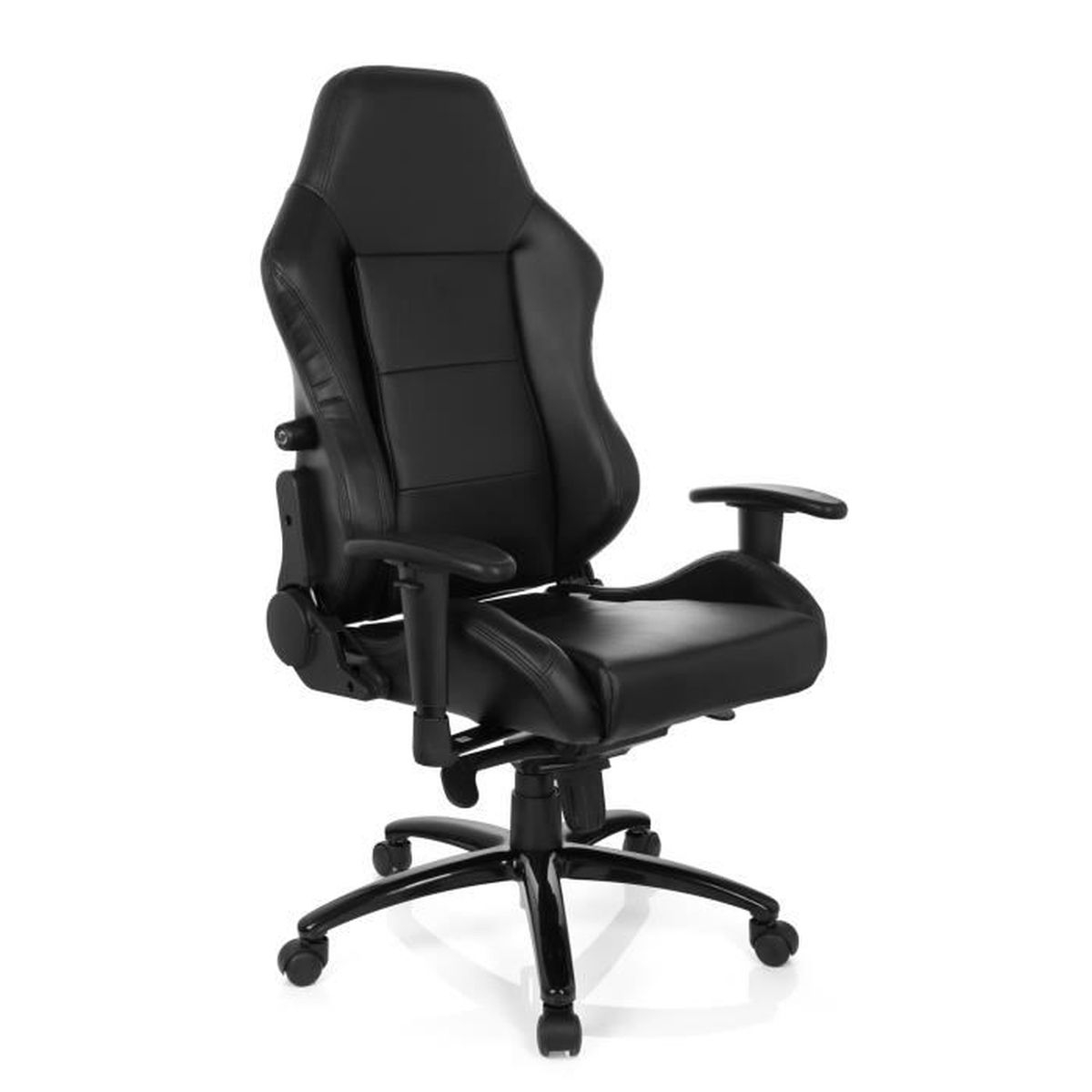 chaise gaming chaise de bureau gaming indy ii pu noir hjh office achat vente chaise de. Black Bedroom Furniture Sets. Home Design Ideas
