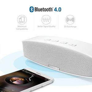 ENCEINTE NOMADE Enceinte blanche Bluetooth Stereo 20W Premium avec