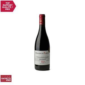 VIN ROUGE Côtes du Rhône Villages Laudun Rouge 2017 - 75cl -