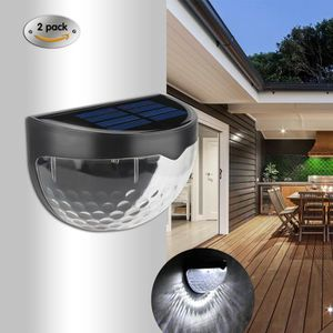 APPLIQUE EXTÉRIEURE Ototon® 2 Pack Lampe Solaire Etanche Détecteur de