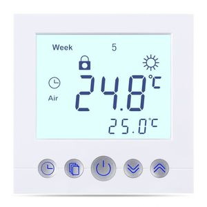 THERMOSTAT D'AMBIANCE Thermostat d'ambiance Programmable avec écran LCD