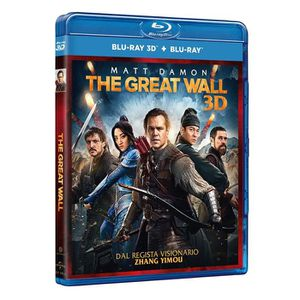 BLU-RAY FILM DVD Italien importé, titre original: the great wal