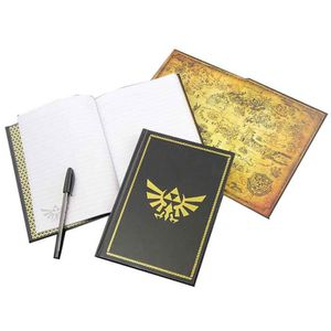 CARNET DE NOTES Legend Of Zelda Notebook Hyrule Hylian Crest nouve