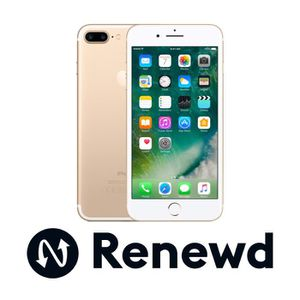 SMARTPHONE Renewd Apple iPhone 7 Plus recondionné - 32GB Or,