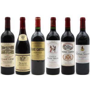 VIN ROUGE Assortiment 6 Grands Crus 1999 - Vins Rouge - 75cl