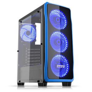 BOITIER PC  EMPIRE GAMING - Boitier PC Gamer DarkRaw Noir - 4
