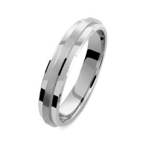 ALLIANCE - SOLITAIRE ALLIANCE OR GRIS/BLANC 18Cts 3,8mm TAILLE 45 à 75